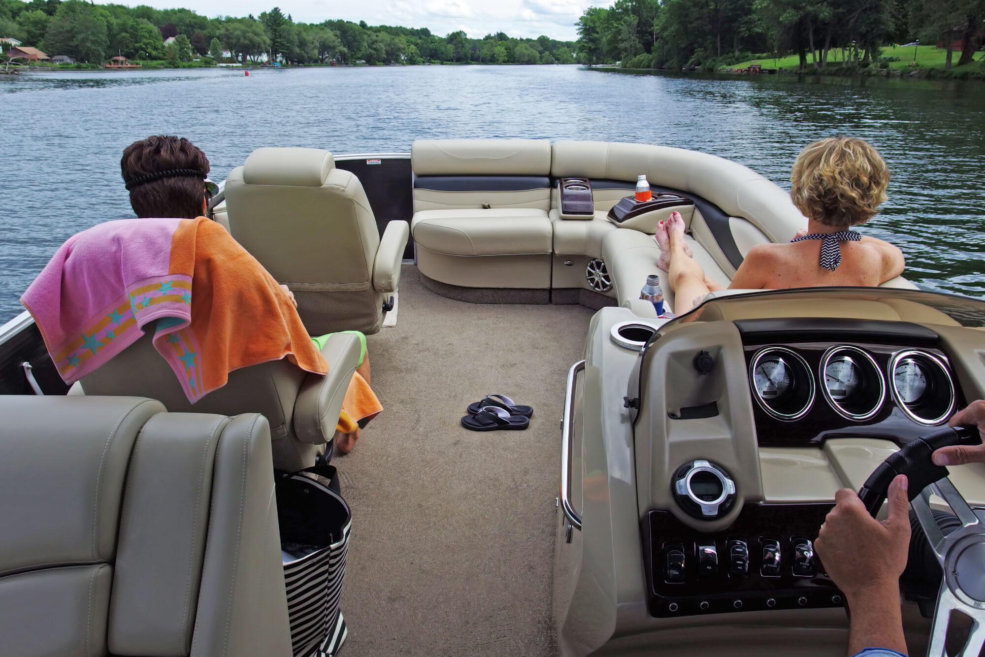 Boaters at Leelanau Boat Co